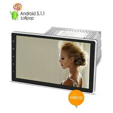 "10.1"" Big Screen Android 5.1 OS 2 Din DVD GPS Radio Player Car DVR WIFI 4G+gifts"