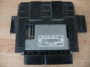 2012 CHEVROLET AVEO ENGINE MANAGEMENT ECU COMPUTER 55583708 BOSCH 0281018383