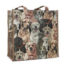 Tapestry Labrador - Retriever Dogs Shopper Bag/Tote Bag Signare