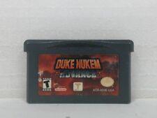 DUKE NUKEM ADVANCE Gameboy Advanced GBA Stickers on Game