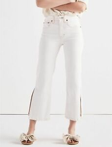 Lucky Brand Women's Lucky Pins High Rise Jeans Size 24 / 00 NWT Caiguna White