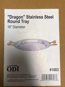 Old Dutch International Dragon Handle Round Serving Tray Brand New Box Pack