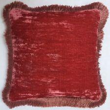 Anke Drechsel Kissen Exklusive Designer PLAIN Fringe Pillow Almohada Cushion