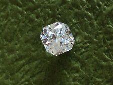 2 Carat Russian Sim Diamond CUSHION CUT White 7 mm x 7 mm white