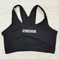 GYMSHARK | Womens Black Ark Sports Bra / Top [ Size M or AU 12 / US 8 ]