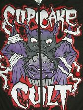 BNWT CUPCAKE CULT BATTY HOODIE GOTHIC VAMPIRE HALLOWEEN  EMO  SIZE SMALL / MED