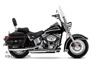 Harley-Davidson FLSTCI Heritage Softail Classic 2003 motorcycle press campaign