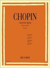 Ricordi Chopin notturni per Pianoforte - Brugnoli
