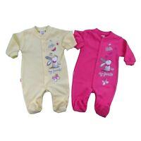 BNWT Baby Girls Playsuit *Sleepsuit *Babygrow 100% Cotton Newborn/3-6/12-18m