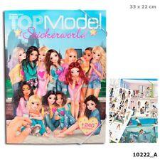 Depesche Create your TOP Model Stickerworld Malbuch Sticker 10222_A