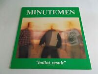Minutemen Ballot Result LP 1986 SST Double Live Vinyl Record