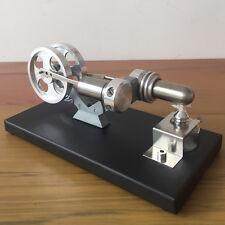 New Hot Air Stirling Engine Model Toy Powerful Motor Model Engine Twin Flywheel