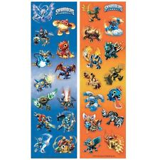 Skylanders 8 Sticker Strips Loot Bag Birthday Party Favor Supplies