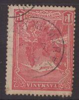 Tasmania EAST MEANDER postmark on 1d pictorial rated S (5) by Hardinge