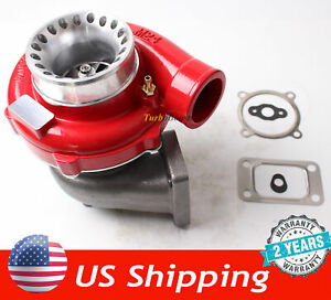 GT35 GT3582 Turbo Charger T3  Anti-Surge Compressor Turbocharger red housing