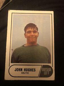 A&BC 1969 Blue Back Card Scottish #23 John Hughes Celtic