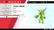 Pokemon Cizayox shiny 6IV + masterball - Battle Ready - Epée/Bouclier
