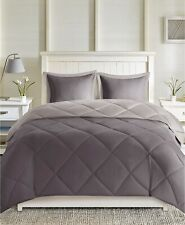 Madison Park 3-Pc. Full/Queen Comforter Set Larkspur Charcoal/Grey T95028