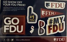 Fairleigh Dickinson University Stickers, 5x7 Sheet/7 Stickers