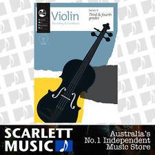 AMEB Violin Series 9 Grade 3 to Grade 4 ( Third / Fourth ) Recording & Handbook