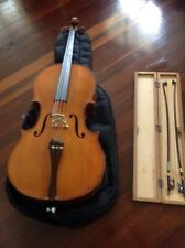 """Cello, 4/4 full size """"blessing"""", two bows"""