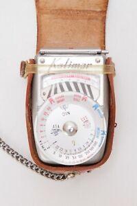 Kalimar Exposure Meter, Model B-1 In Original Case