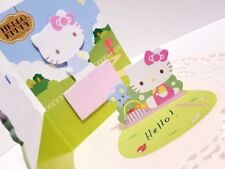 Hello Kitty Memo Pad Pop-Up Sticky Notes 3D Sanrio Post-it Kawaii 2Pcs