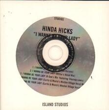 Hinda Hicks(CD Single)I Wanna Be Your Lady-New