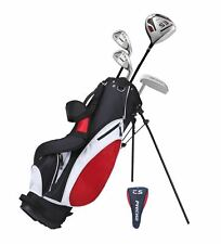 Precise ES Men's 6 Piece Right Handed Beginner Starter Golf Club Package Set