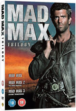 Mad Max Trilogy 1-3 DVD Road Warrior / Beyond Thunderdome UK Release New R2