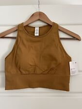 NWT Lululemon Ebb To Train Bra Size 6 Spiced Bronze Medium Support C/D Cup