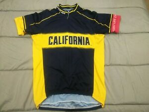 2015 Cal California Berkeley Bears Cycling Jersey by Voler Size Small