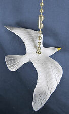 Sea Gull Flying Ceiling Fan or Light Pull Nautical Whimsey