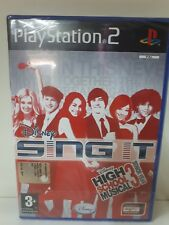 SINGIT HIGH SCHOOL MUSICAL 3 PLAY STATION 2 NUOVO