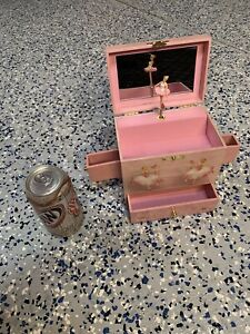 Enchantmints Pink Ballerina Swan Lake Music Box