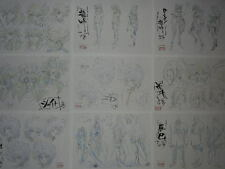 Saint Seiya Omega Settei for cel JAPAN 3