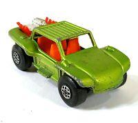 Matchbox Series 13 Baja Buggy Green 1971 Vintage Toy Car Diecast M345