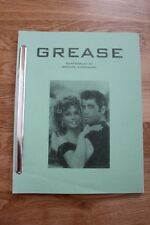Grease Screenplay by Brente Woodward