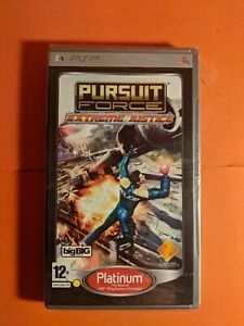 BRAND NEW Pursuit Force - Extreme Justice (PSP, 2008) Region Free Import