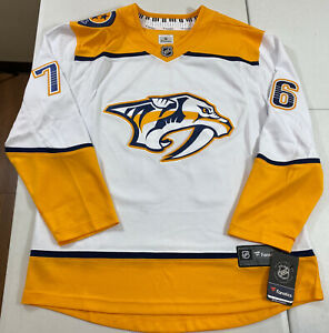 Fanatics PK Subban NHL Nashville Predators Breakaway Hockey Jersey Size Medium