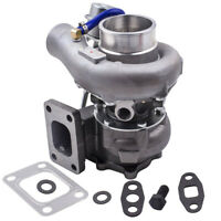 Turbo Charger A/R 0.63 0.5 Water Cooled For Nissan Skyline R34 RB25DET T3 430BHP