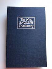 Secret Dictionary Book Safe / Hidden / Discreet Locking Security Box