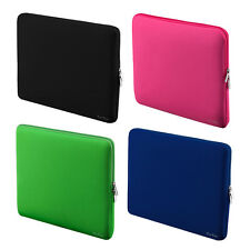 "Zipper Soft Sleeve Bag for MacBook Air Retina Notebook 13"" 13.3""Bag Color Black"