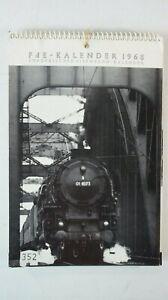 FdE - Kalender 1968 Europäischer Eisenbahn Kalender   B-15366
