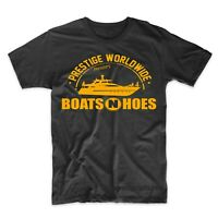 Boats N Hoes Funny T-Shirt Prestige Worldwide Step Brothers