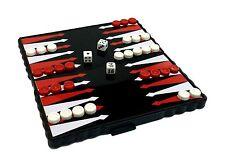 Pocket Travel Board Game Magnetic BACKGAMMON Folding Board 13 x 13 cm