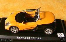 RENAULT SPIDER JAUNE CABRIOLET SPORT 1/43 YELLOW FRANCE