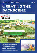 Peco SYH 16 The Railway Modeller Book Creating The Back Scene 8 page Booklet