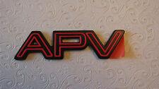 "NEW OEM Red Chevy Lumina ""APV"" Nameplate Emblem Badge 10120234"