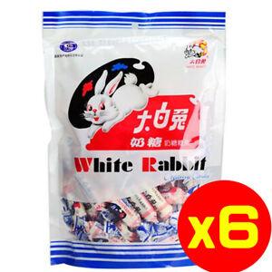 White Rabbit Milk Creamy Candy 180g (Pack of 6)